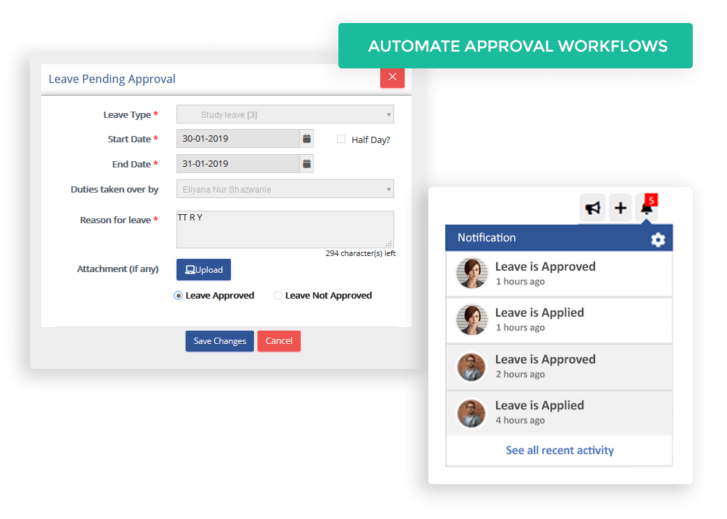 Automate Approval Workflows