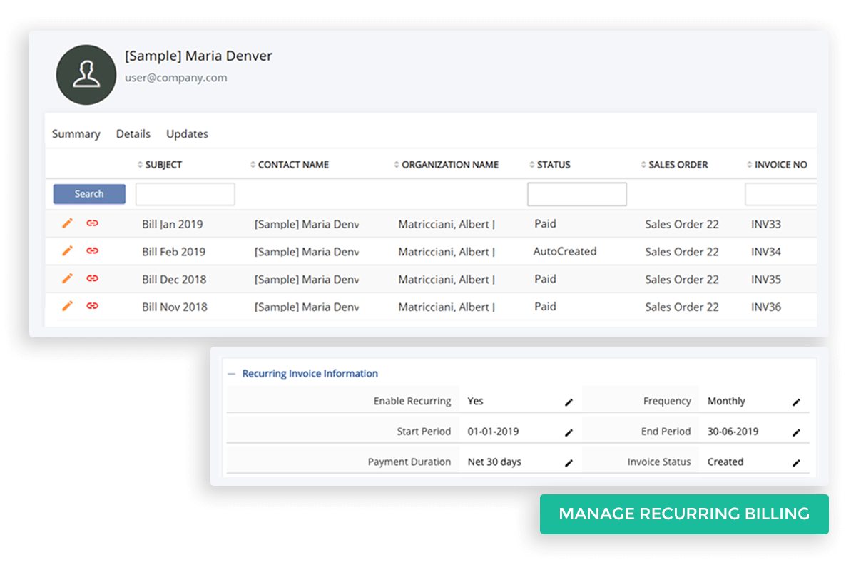 Manage-Recurring-Billing-for-Subscription