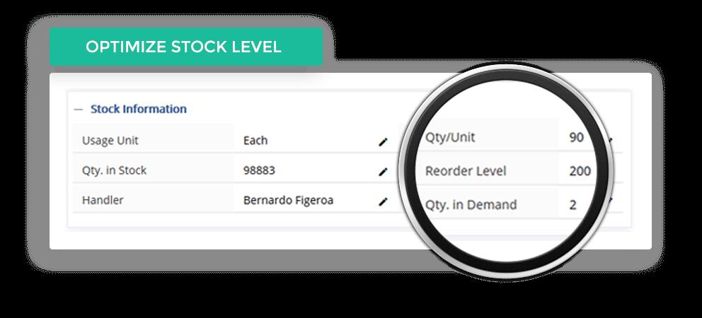 Optimize Stock Level
