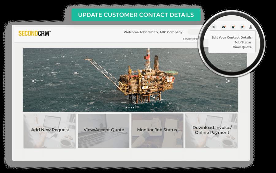 Update Customer Contact Details