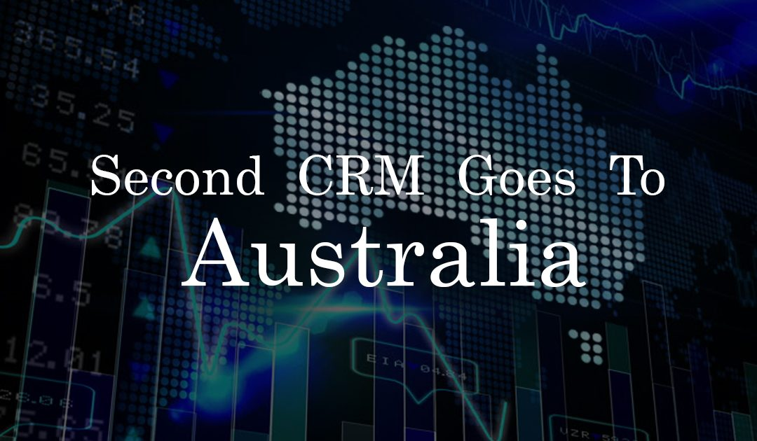 Second CRM Goes To Australia!