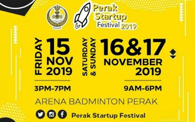 Come Visit Us At Perak Startup Festival