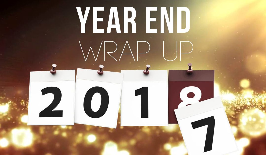 Year End Wrap Up 2017!